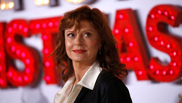 Cast member Susan Sarandon poses at the premiere for A Bad Moms Christmas in Los Angeles, California, U.S., October 30, 2017 - Sputnik International