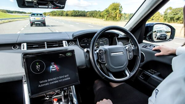 Autonomous car - Sputnik International