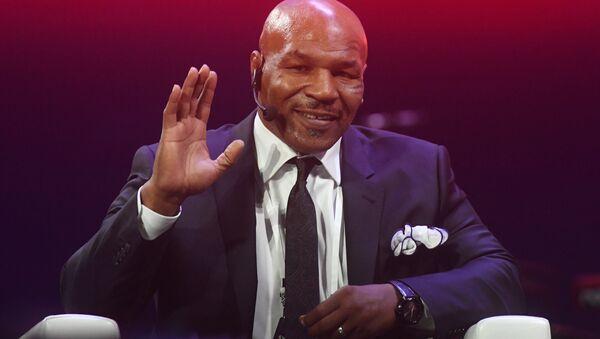 Boxer Mike Tyson at the Synergy Global Forum - Sputnik International