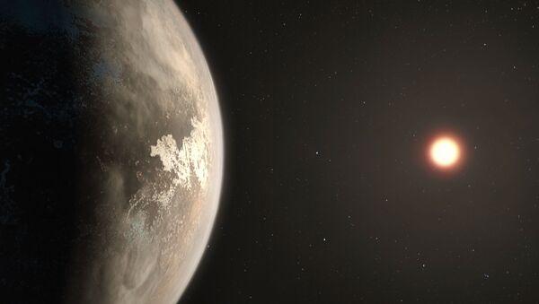 Artist's impression of the planet Ross 128 b - Sputnik International