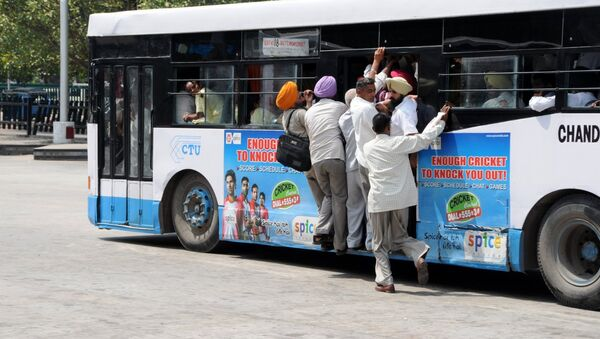 Bus in India - Sputnik International