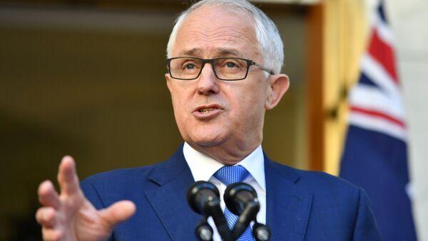 Prime Minister Malcolm Turnbull speaks at a news conference at Parliament House in Canberra November 30, 2017. - Sputnik International