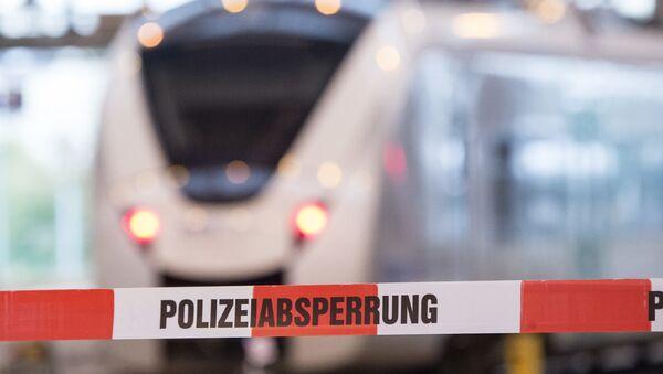 File Photo of German Train - Sputnik International