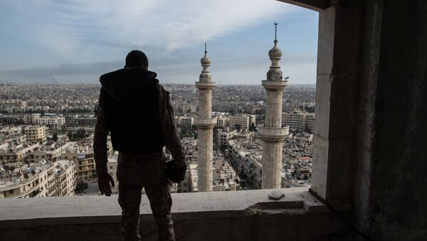 A soldier in Aleppo - Sputnik International