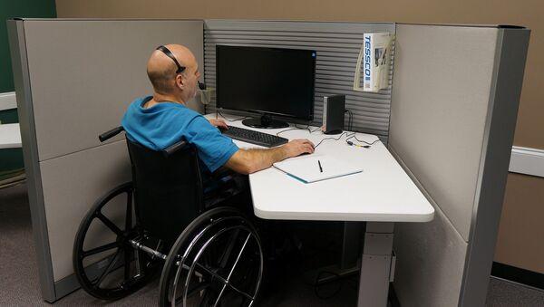 Disabled worker - Sputnik International
