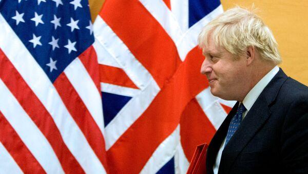 Britain's Foreign Secretary Boris Johnson - Sputnik International