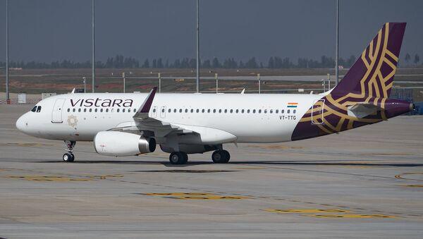 Vistara Airbus A320 registered VT-TTG at Kempegowda Intl Airport Bangalore - Sputnik International