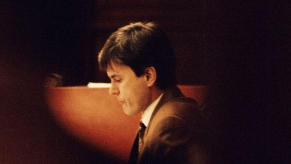 This file picture shows John Ausonius pictured during a trial in Stockholms district court on February 2, 1995 - Sputnik International