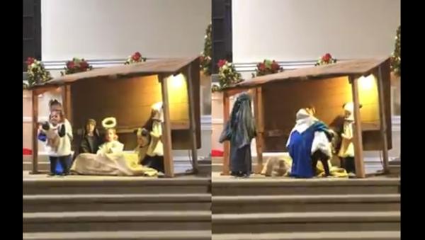 Nativity Knockout: Tennessee Tots Battle Over Baby Jesus - Sputnik International