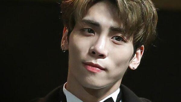 Jonghyun at 2016 Korean Popular Culture And Arts Awards - Sputnik International