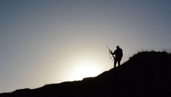 Silhouette of a hunter - Sputnik International