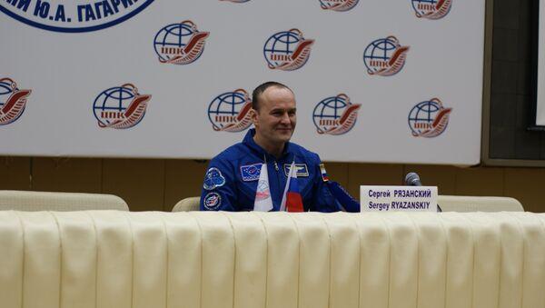 Russian ISS cosmonaut Sergey Ryazansky - Sputnik International