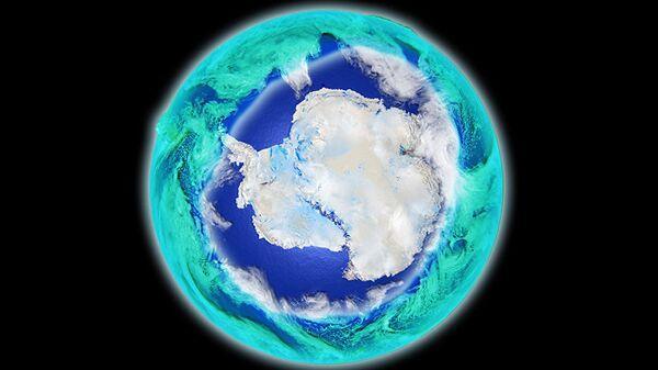 Antarctic ozone hole - Sputnik International