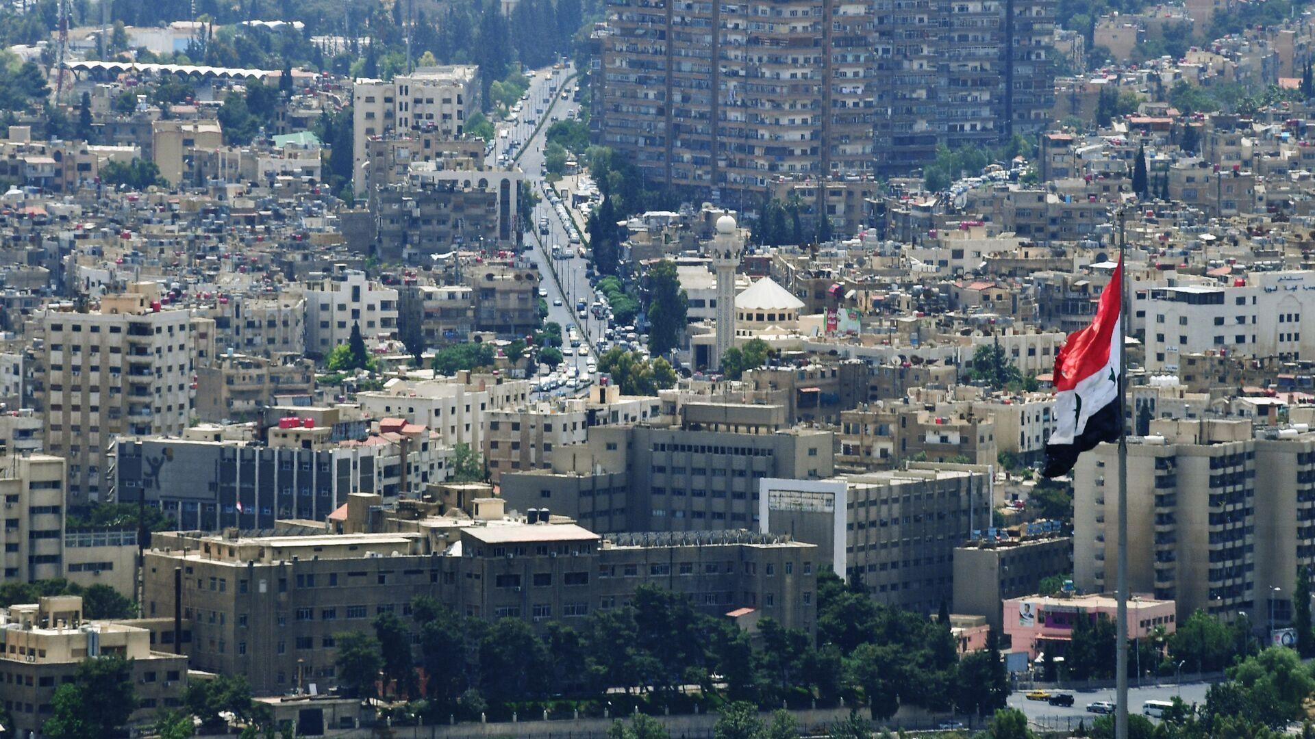 A view of Damascus from Qasioun Mountain - Sputnik International, 1920, 17.09.2021