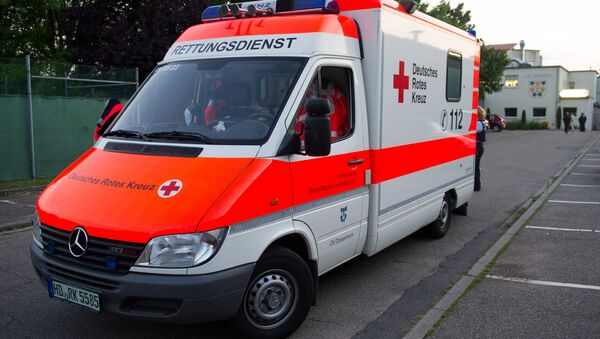 Germany ambulance - Sputnik International