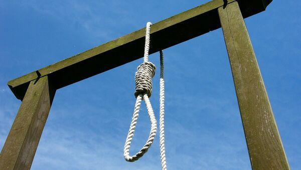 Gallows and noose. - Sputnik International