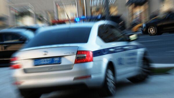 Police car in Moscow - Sputnik International