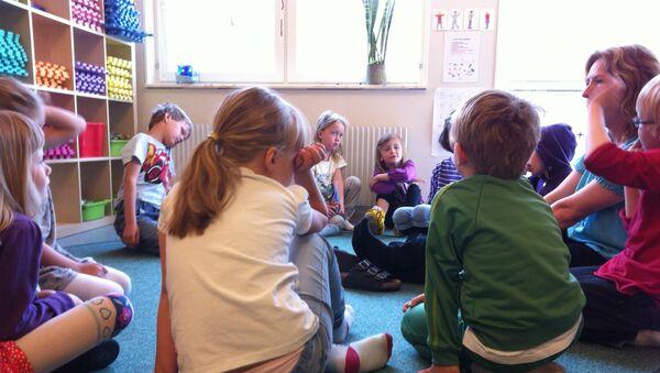 Kindergarten in Sweden - Sputnik International