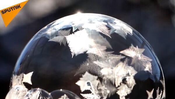 Soap Bubble in the Frost - Sputnik International