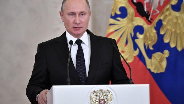Russian President Vladimir   - Sputnik International