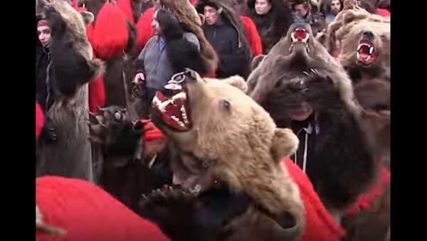 Bear Parade in Romania - Sputnik International