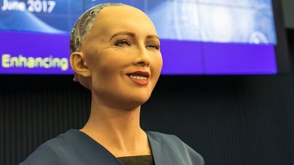Sophia (robot) - Sputnik International