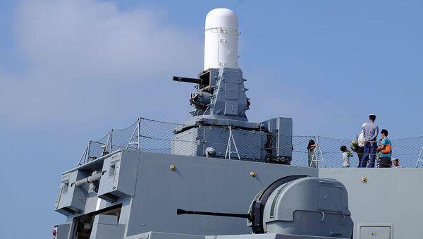 Phalanx CIWS and Bofors 40mm L70 Gun - Sputnik International