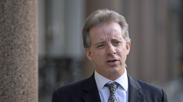 Christopher Steele, former British intelligence officer in London Tuesday March 7, 2017 where he has spoken to the media for the first time . Steele who compiled an explosive and unproven dossier on President Donald Trump's purported activities in Russia has returned to work - Sputnik International