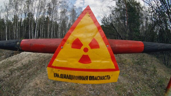 Chernobyl nuclear plant restricted zone - Sputnik International