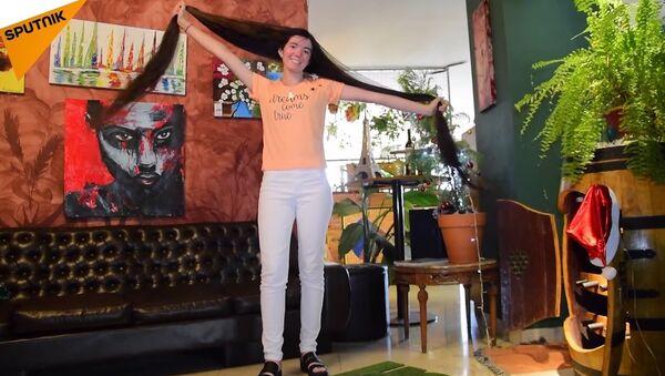 Rapunzel from Argentina - Sputnik International