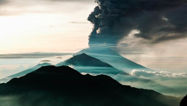 Volcano eruption - Sputnik International