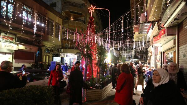 Christmas festivities in Damascus - Sputnik International