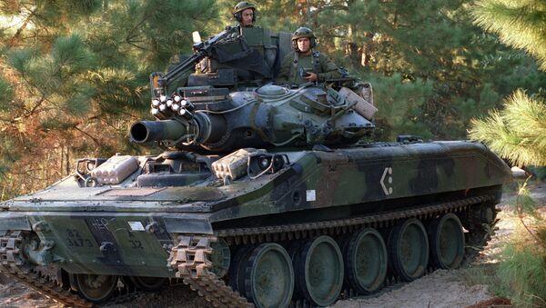 M551A1 Sheridan light tank - Sputnik International