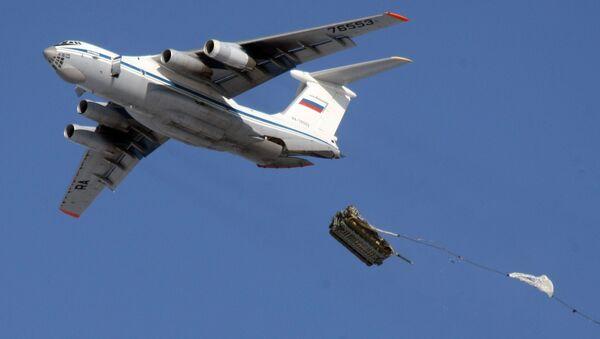 Field training of 76th Guards Airborne Division - Sputnik International
