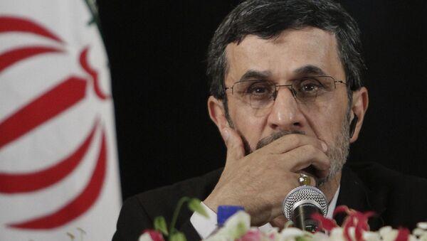 former President of Iran, Mahmoud Ahmadinejad - Sputnik International