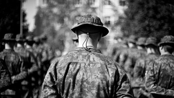 Finnish soldier - Sputnik International