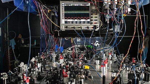 Quantum optics lab at the Russian Quantum Center - Sputnik International