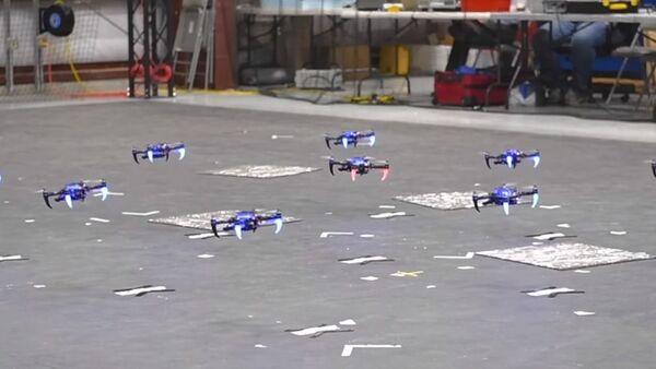 DARPA's Swarming Drones - Sputnik International