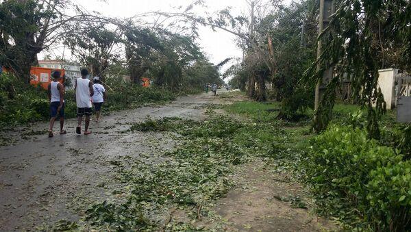 Aftermath of tropical cyclone Ava in Toamasina - Sputnik International