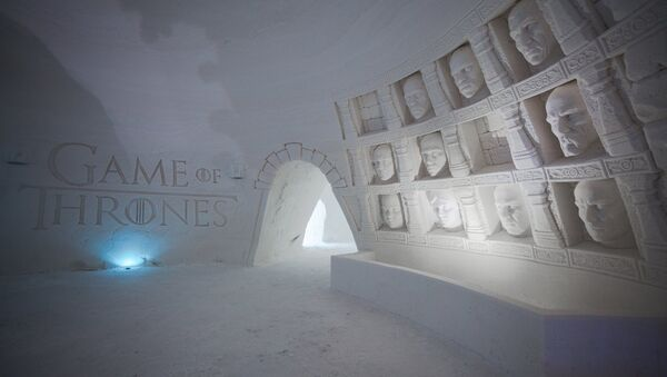 Snowvillage and HBO Nordic created the world's snow hotel in the middle of the game of Thrones - Sputnik International