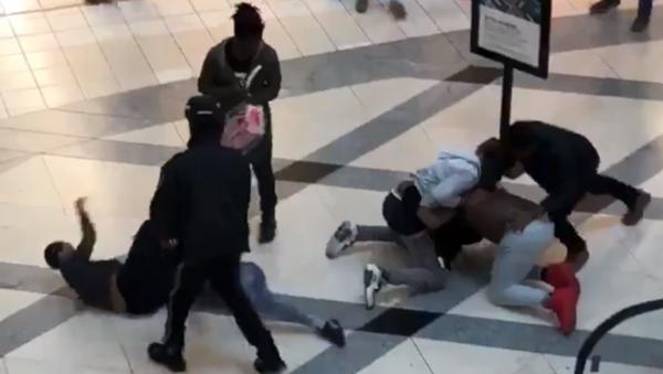 Fight breaks out at Lenox Mall in Atlanta, Georgia - Sputnik International