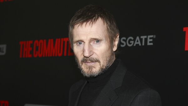 Liam Neeson attends the premiere of The Commuter at AMC Loews Lincoln Square on Monday, Jan. 8, 2018, in New York - Sputnik International
