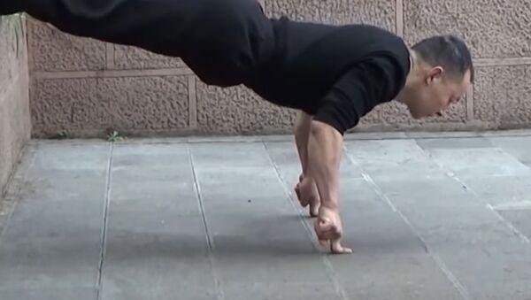Kung Fu Master Shares His Secret - Sputnik International