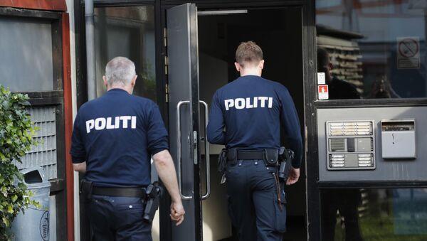 Police officers in Denmark. (File) - Sputnik International