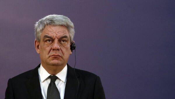 former Romanian Prime Minister Mihai Tudose - Sputnik International