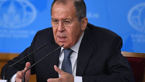 News conference with Russia's Foreign Minister Sergei Lavrov - Sputnik International