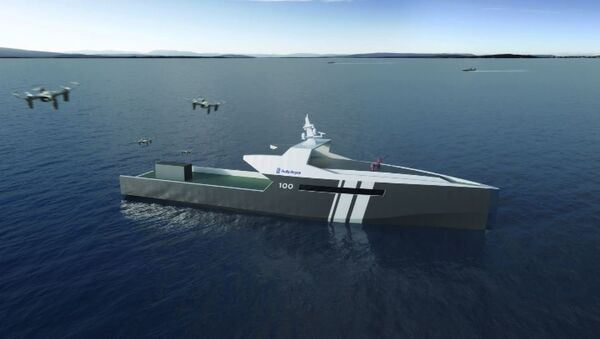 Unmanned Rolls Royce Ship - Sputnik International