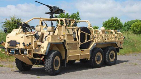 Supacat's HMT Extenda Special Forces Vehicle - Sputnik International