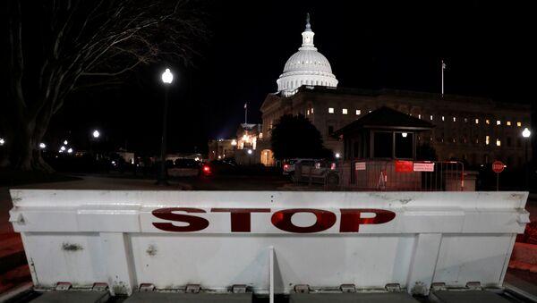 U.S. Capitol is seen shortly after beginning of the Government shutdown in Washington, U.S., January 20, 2018 - Sputnik International