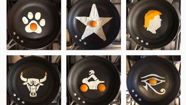 The Eggs-hibit - Sputnik International